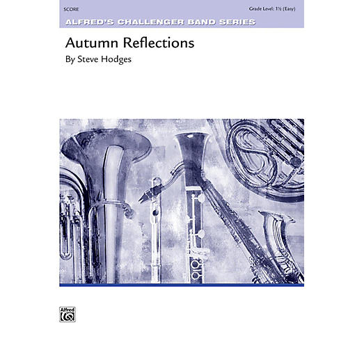 Alfred Autumn Reflections Concert Band Grade 1.5-thumbnail