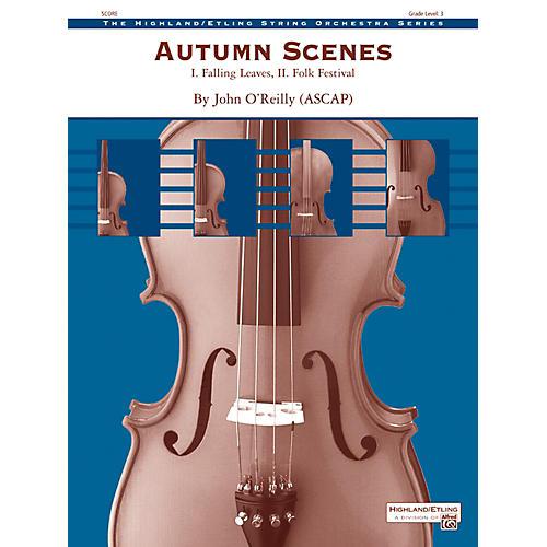 Alfred Autumn Scenes String Orchestra - Grade 3 Set-thumbnail