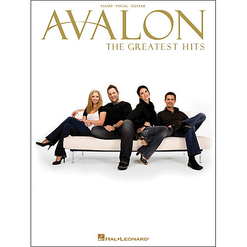 Hal Leonard Avalon - The Greatest Hits arranged for piano, vocal, and guitar (P/V/G)
