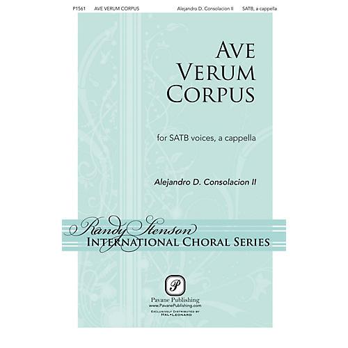 Pavane Ave Verum Corpus SATB a cappella composed by Alejandro Consolacion