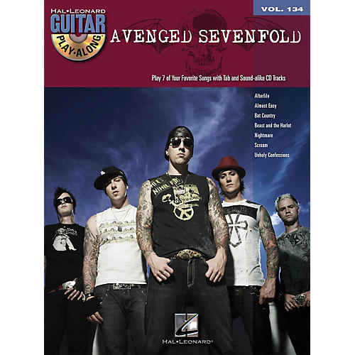 Hal Leonard Avenged Sevenfold - Guitar Play-Along Volume 134 (Book/CD)-thumbnail
