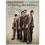 Hal Leonard Avenged Sevenfold - Guitar Signature Licks Book/CD