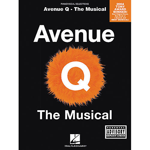 Hal Leonard Avenue Q - The Musical Piano, Vocal, Guitar Songbook-thumbnail