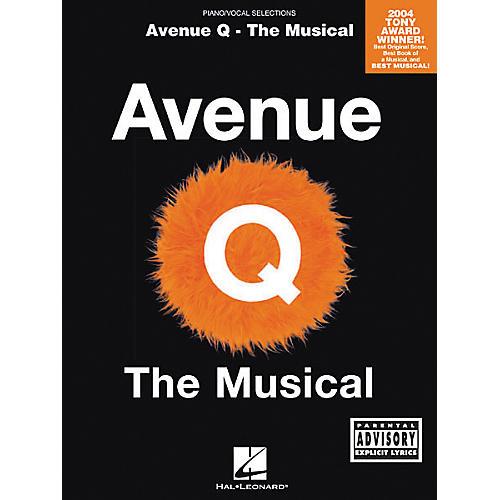 Hal Leonard Avenue Q - The Musical Piano, Vocal, Guitar Songbook