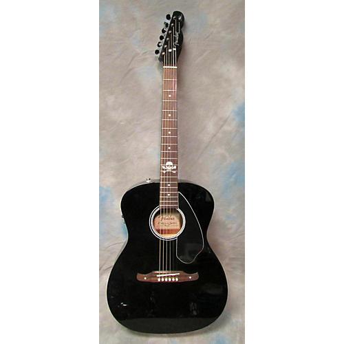 Fender Avril Lavigne Newporter Acoustic Electric Guitar