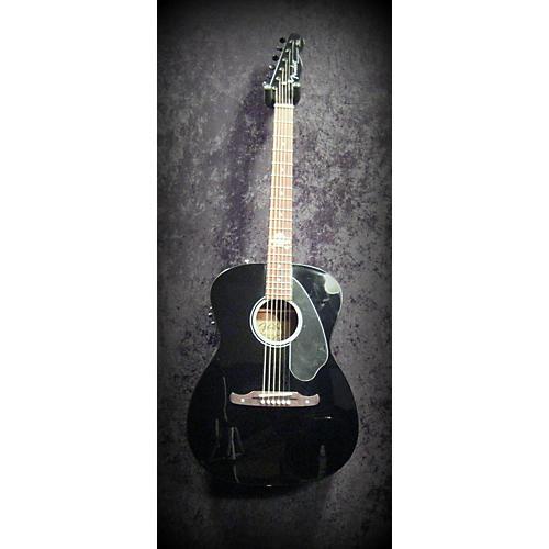 Fender Avril Lavigne Newporter Black Acoustic Electric Guitar