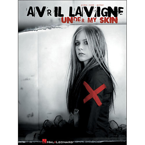 Hal Leonard Avril Lavigne Under My Skin arranged for piano, vocal, and guitar (P/V/G)-thumbnail