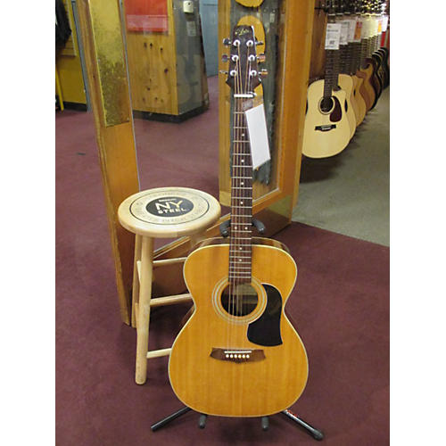 Aria Aw200F Vintage Natural Acoustic Guitar