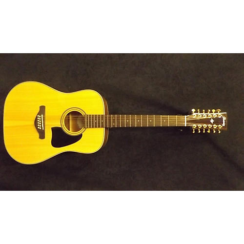 Ibanez Aw8012nt 12 String Acoustic Guitar-thumbnail