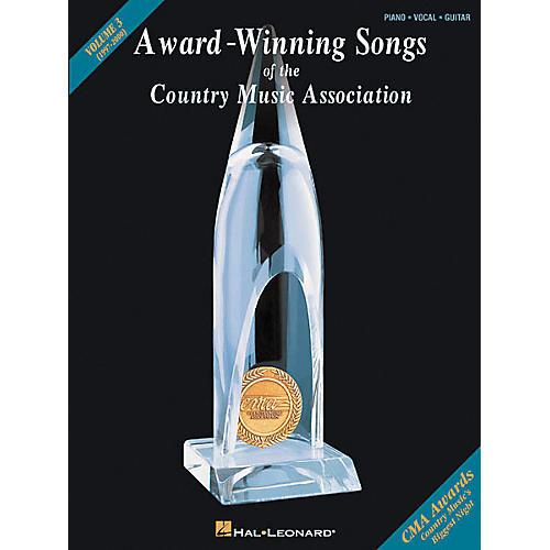 Hal Leonard Award-Winning Songs of the Country Music Association Volume 3: 1997-2000