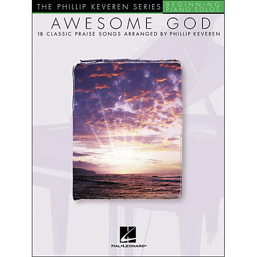 Hal Leonard Awesome God - Phillip Keveren Series Beginning Piano Solos-thumbnail