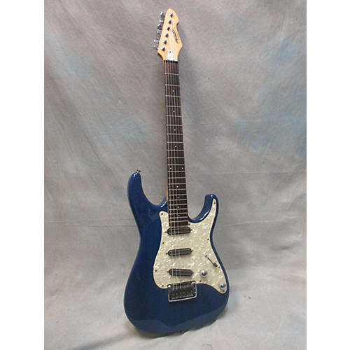 Peavey Axcelerator Solid Body Electric Guitar Blue