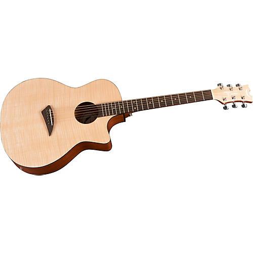 Dean Axcess Flame Cutaway Acoustic Guitar