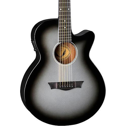 Dean Axcess Performer Cutaway Acoustic-Electric Guitar Silver Burst