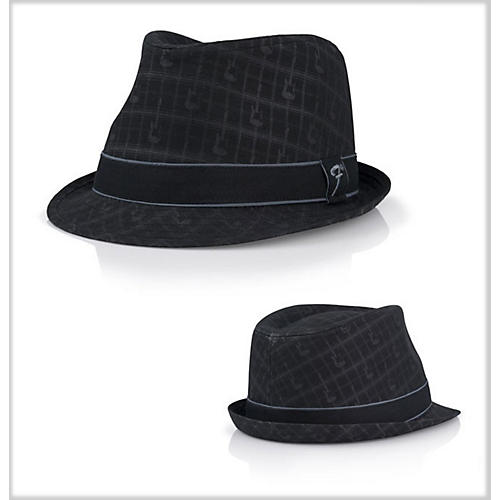 Fender Axe Plaid Fedora Black Large/Extra Large