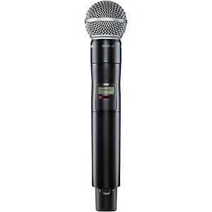 Shure Axient Digital AD2/SM58 Handheld Wireless Transmitter with SM58 Micro...