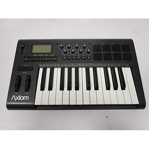used m audio axiom 25 v2 25 key midi controller guitar center. Black Bedroom Furniture Sets. Home Design Ideas