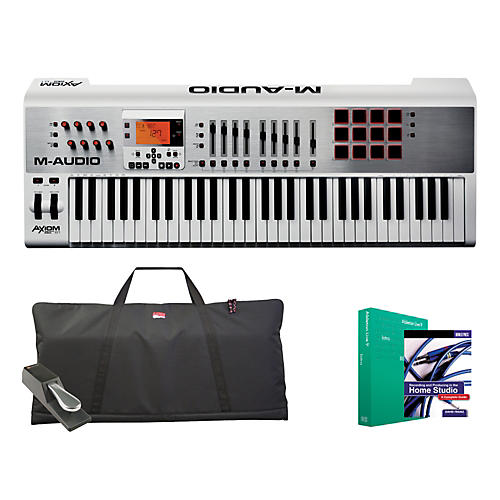 M-Audio Axiom AIR 61 Keyboard Controller Package 1