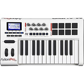 M Audio Axiom Pro 25 Usb Midi Keyboard Controller Guitar