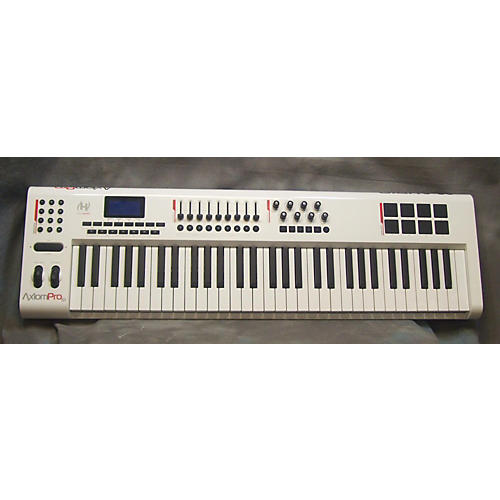 M-Audio Axiom Pro 61 Key Alpine White MIDI Controller-thumbnail