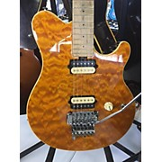 Ernie Ball Axis Quilt Solid Body Electric Guitar