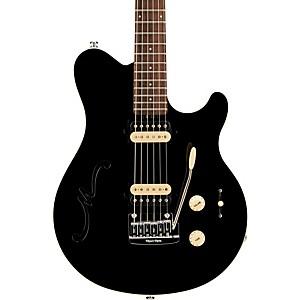 Ernie Ball Music Man Axis Super Sport HH Hollowbody Electric Guitar with Tr...
