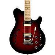 Ernie Ball Music Man Axis Super Sport HH Hollowbody Electric Guitar with Tremolo/Piezo Bridge
