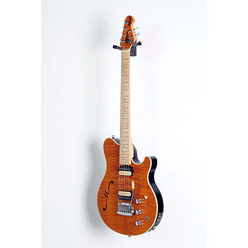 Ernie Ball Music Man Axis Super Sport HH Hollowbody Electric Guitar with Tremolo/Piezo Bridge-thumbnail