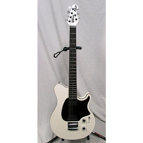 used ernie ball music man axis super sport hh solid body electric guitar pearl white guitar center. Black Bedroom Furniture Sets. Home Design Ideas