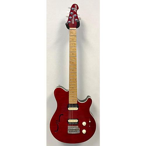 Ernie Ball Music Man Axis Super Sport Semi Hollow Hollow Body Electric Guitar