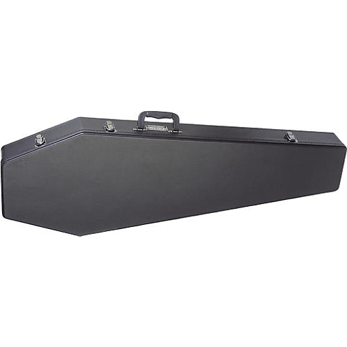 Coffin Case B-195 Universal Bass Case with Red Interior-thumbnail