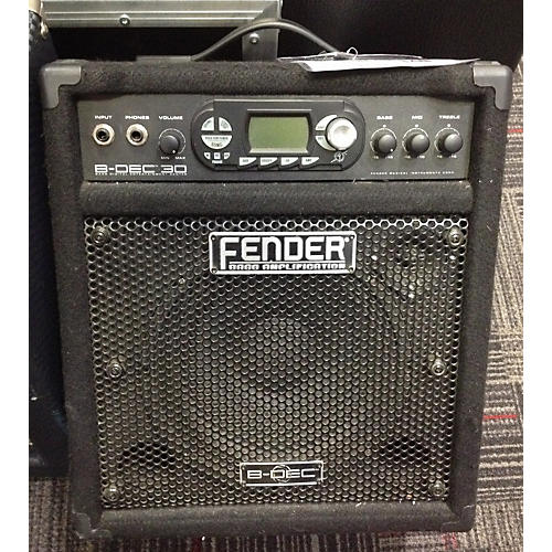 Fender B-DEC 30 Bass Combo Amp
