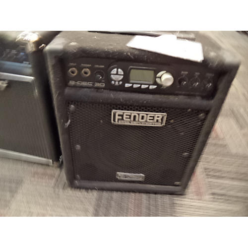 Fender B Dec 30W 1x10 Bass Combo Amp