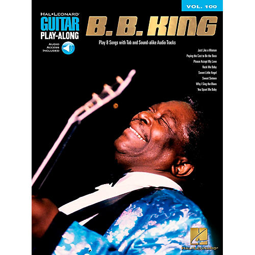 Hal Leonard B.B. King - Guitar Play-Along Volume 100 (Book/CD)
