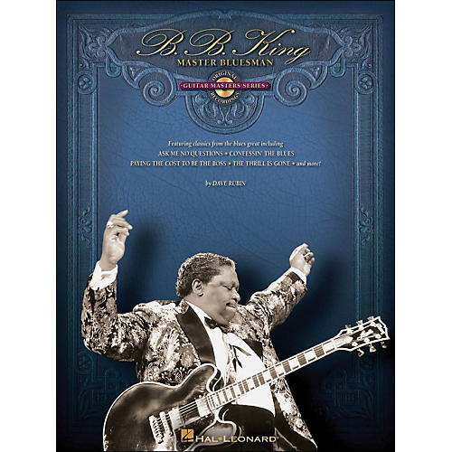Hal Leonard B.B. King Master Bluesman - Deluxe Edition Book & CD-thumbnail
