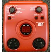 Zoom B1 Effect Processor