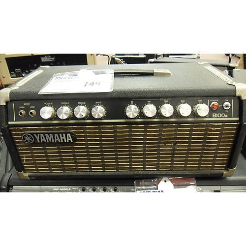 Used yamaha b100 ii tube guitar amp head guitar center for Yamaha bass guitar amplifier