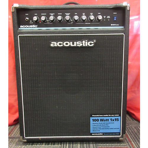 Acoustic B100MKII 100W 1X15 AMP COMBO A BASS