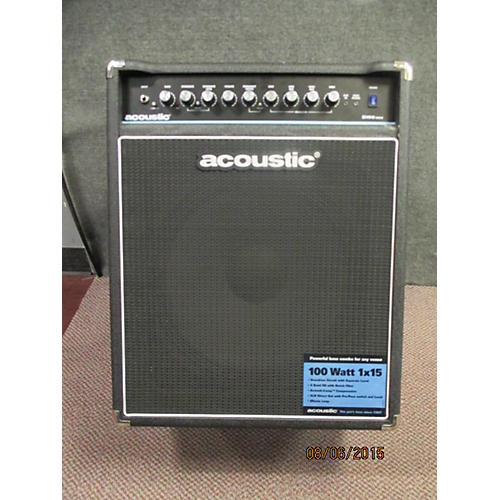 Acoustic B100MKII 100W 1X15 Bass Combo Amp
