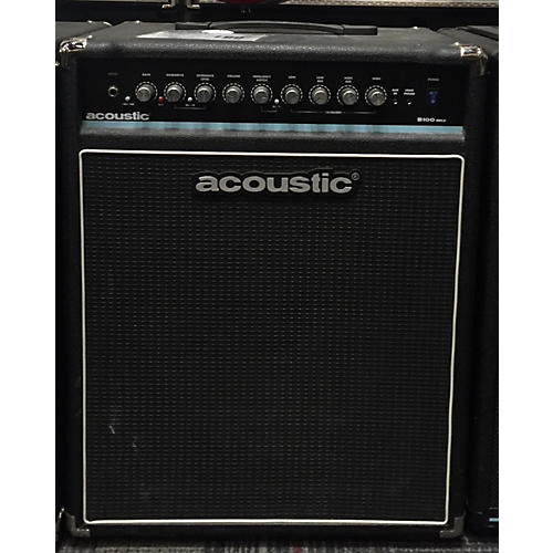 Acoustic B100MKII 100W 1x15 Bass Combo Amp-thumbnail