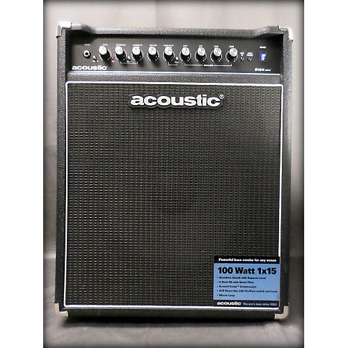 Acoustic B100MKII 100W 1x15 Bass Combo Amp-thumbnail