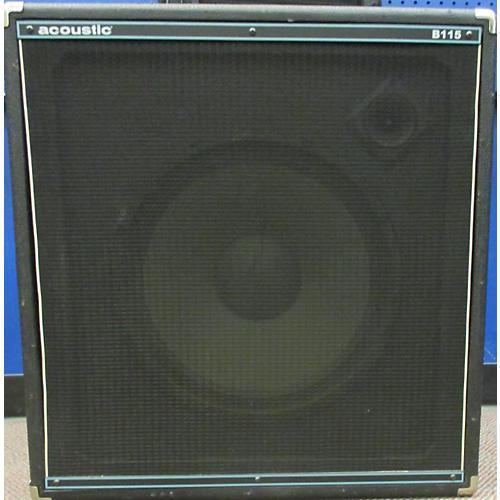 Acoustic B115 250W 1x15 Bass Cabinet-thumbnail