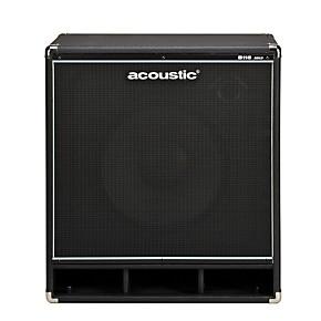Acoustic B115mkII 1x15 Bass Speaker Cab Black   Guitar Center
