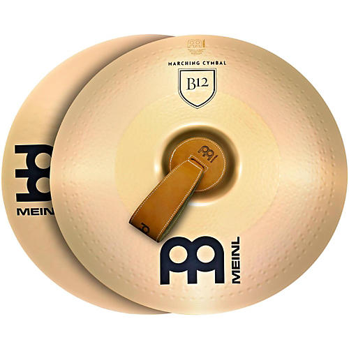 Meinl B12 Marching Medium Cymbal Pair-thumbnail