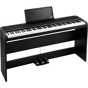 Korg B1SP 88 Keys Digital Piano with Stand and 3-Pedal Unit by Korg