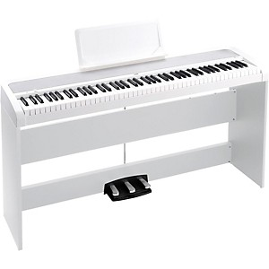 Click here to buy Korg B1SP 88 Keys Digital Piano with Stand and 3-Pedal Unit by Korg.