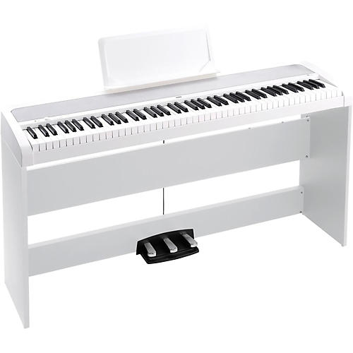 Korg B1SP 88 Keys Digital Piano with Stand and 3-Pedal Unit-thumbnail