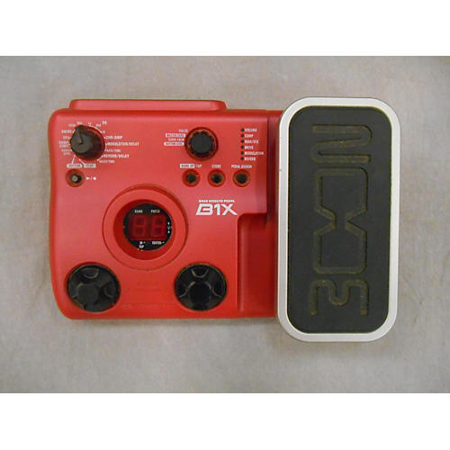 Zoom B1X Bass Multi Effects Pedal Effect Processor