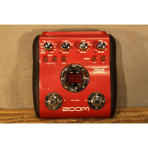 Zoom B2 Bass Effect Effect Processor