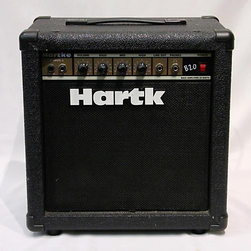 used hartke b20 bass combo amp guitar center. Black Bedroom Furniture Sets. Home Design Ideas